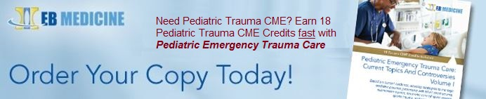 Pediatric Emergency Trauma Care: Current Topics And Controversies
