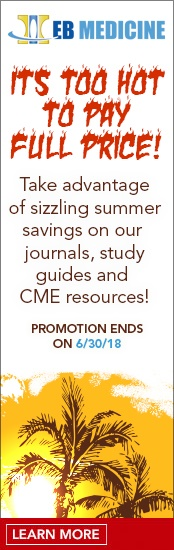 Emergency Medicine CME Sale June 2018 Save On All Resources