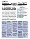 Recognizing and Managing Emerging Infectious Diseases in the Emergency Department Thumbnail