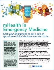mHealth in Emergency Medicine