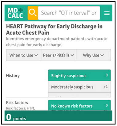 HEART Pathway for Early Discharge in Acute Chest Pain