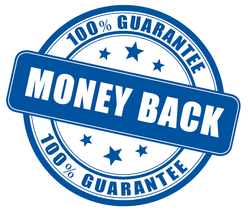 100% Money-Back Gurantee