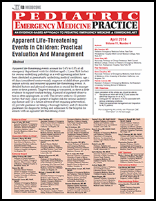 Apparent Life-Threatening Events In Children: Practical Evaluation And Management