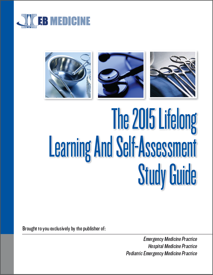 The 2015 Lifelong Learning And Self-Assessment Study Guide