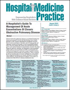 A Hospitalist's Guide To The Management Of Acute Exacerbations Of Chronic Obstructive Pulmonary Disease