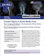 Current Topics in Acute Stroke Care - Stroke EXTRA Supplement (Stroke CME)