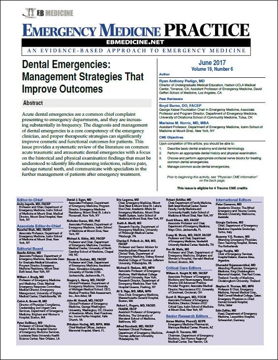 Dental Emergencies: Management Strategies That Improve Outcomes (Trauma CME)