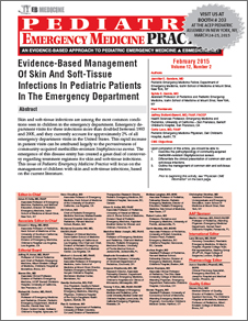 Evidence-Based Management Of Skin And Soft-Tissue Infections In Pediatric Patients In The Emergency Department