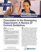 Concussion in the Emergency Department: A Review of Current Guidelines - Trauma EXTRA Supplement (Trauma CME)