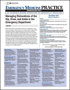 Managing Dislocations of the Hip, Knee, and Ankle in the Emergency Department (Trauma CME)