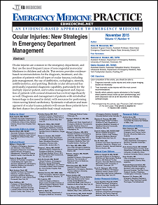 Ocular Injuries: New Strategies In Emergency Department Management (Trauma CME)