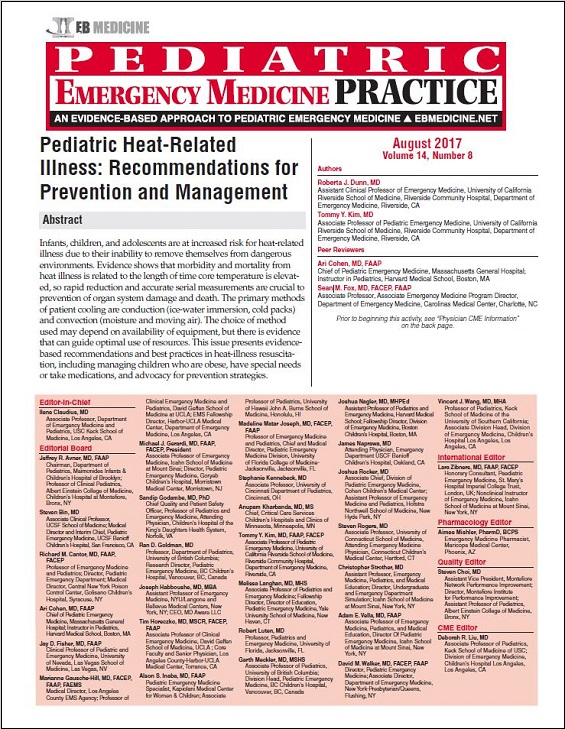 Pediatric Heat-Related Illness: Recommendations for Prevention and Management
