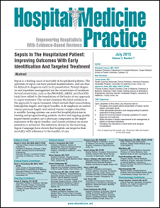 Sepsis In The Hospitalized Patient: Improving Outcomes With Early Identification And Targeted Treatment
