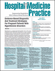 Evidence-Based Diagnostic And Treatment Strategies For Pregnant Patients With Hypertensive Disorders