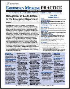 Management Of Acute Asthma In The Emergency Department